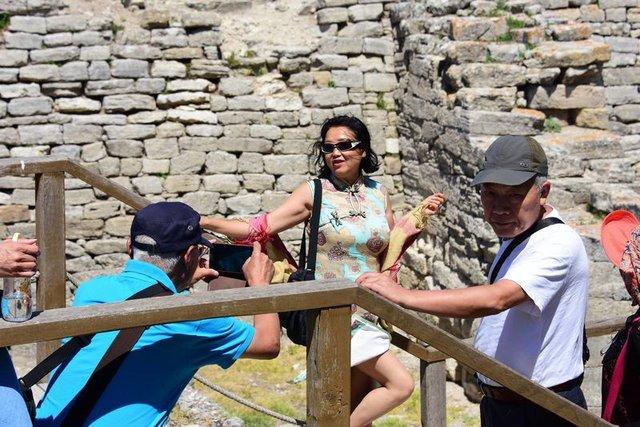 Truva'ya Uzak Doğulu turist ilgisi