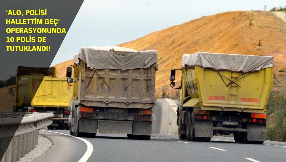 İstanbul hafriyat kamyonları rüşvet