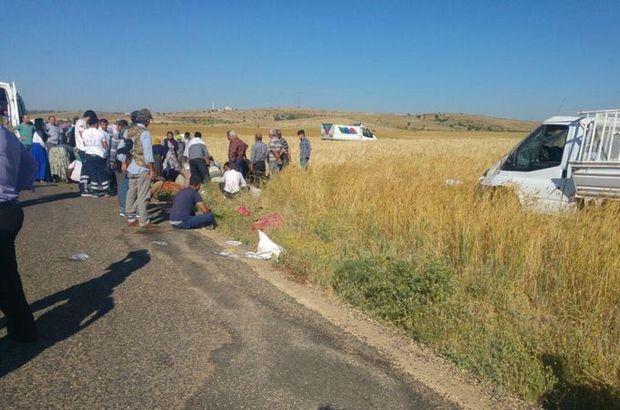 Mardin'de feci kaza! 4 ölü, 13 yaralı