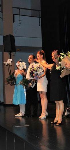 Gözde Türkpençe Flamenko dansıyla büyüledi