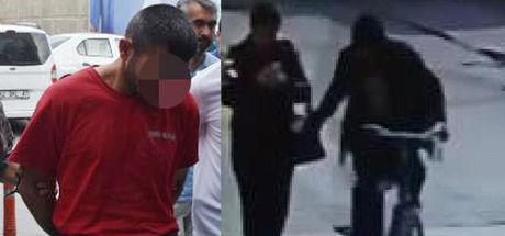 Konya'da 'Bisikletli tacizci' tutuklandı