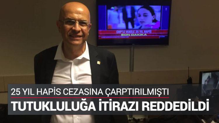 İstanbul 15'inci Ağır Ceza Mahkemesi, durdurulan MİT TIR'larıyla ilgili yargılandığı davada 25 yıl hapis cezasına çarptırılan CHP İstanbul Milletvekili Enis Berberoğlu'nun tutukluluğuna yapılan itirazı reddetti.