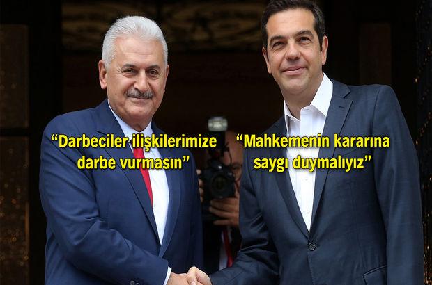 Başbakan Çipras'ı uyardı