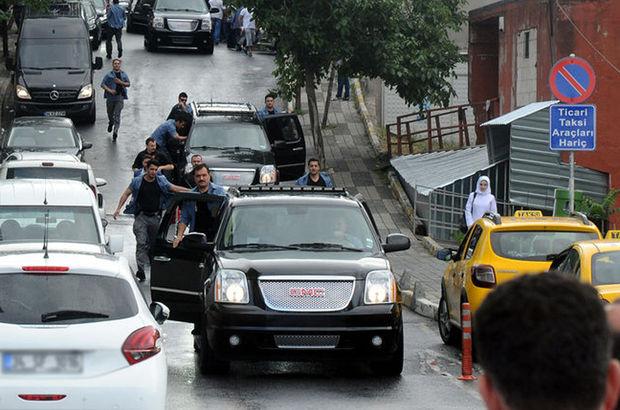 Erdoğan ilk kez o güzergâhı kullandı