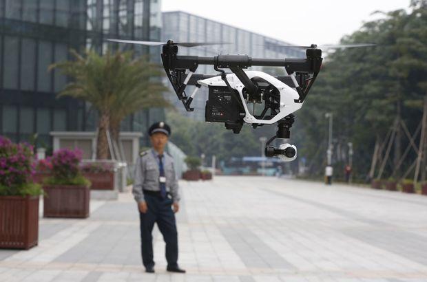 Drone ile hapishaneye uyuşturucu taşıyorlar