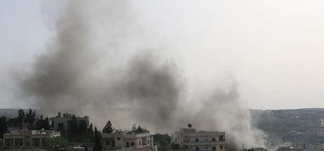 Terör örgütü PYD'nin Azez ve Mare'ye saldırılarında 2 sivil öldü