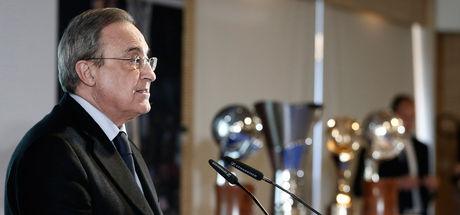 Real Madrid'de Florentino Perez yeniden başkan!
