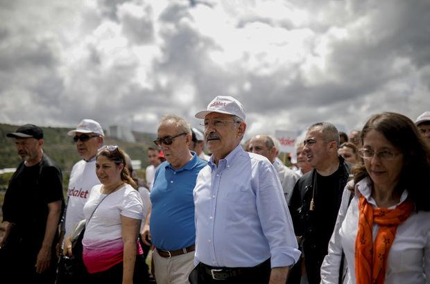 Kılıçdaroğlu'nun İstanbul yürüyüşünün 5. günü