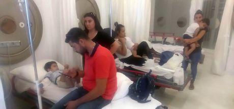 Aydın'da bir anaokulundaki 56 çocuk yediği yemekten zehirlendi