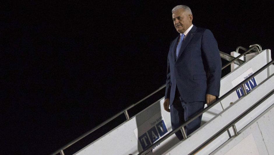 Başbakan Binali Yıldırım Yunanistan