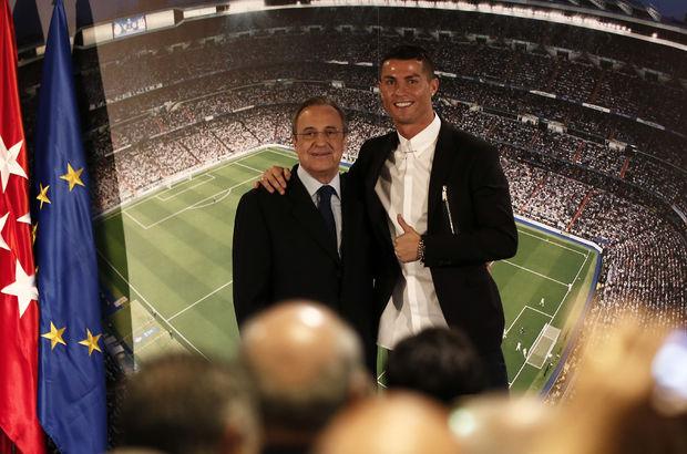 Florentino Perez'den Cristiano Ronaldo açıklaması