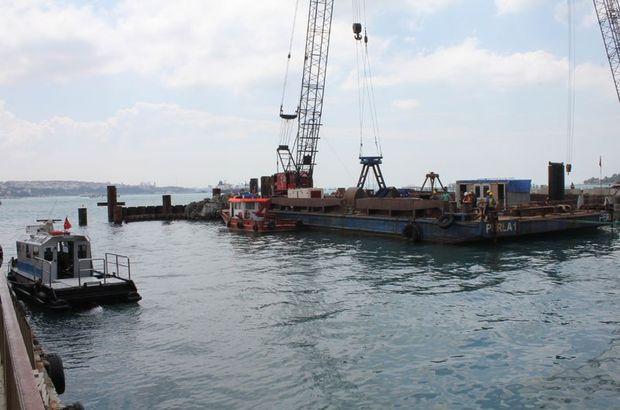 Karaköy'de denizde ceset şoku