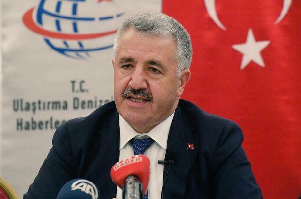 Ulaştırma Bakanı Ahmet Arslan'dan müjde