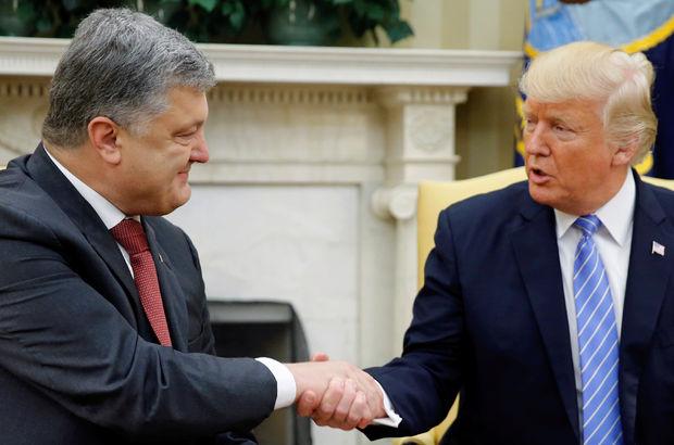 Trump, Ukrayna Devlet Başkanı ile görüştü