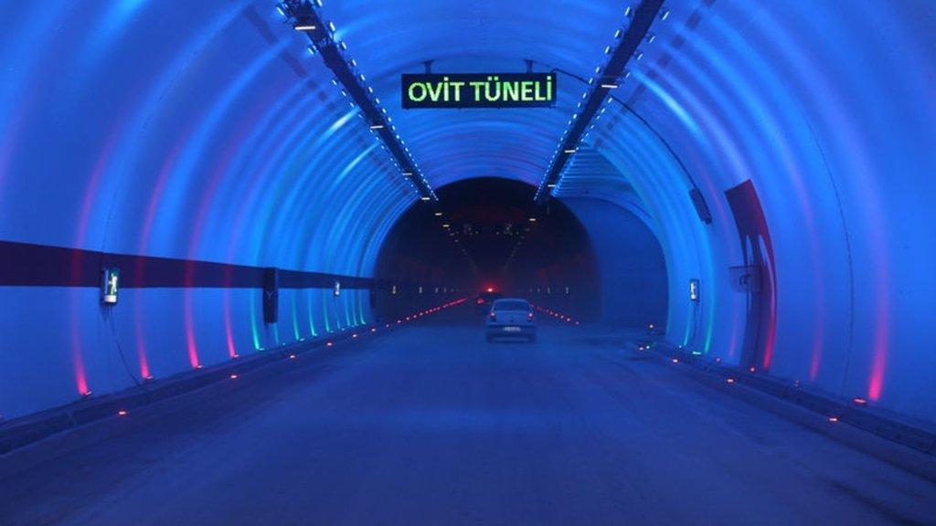 Türkiye'de başka bir örneği yok! Bu tünelin yarısı...