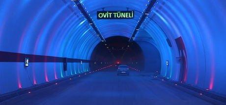 Zigana Tüneli'nin aydınlatması Türkiye'de başka yerde yok