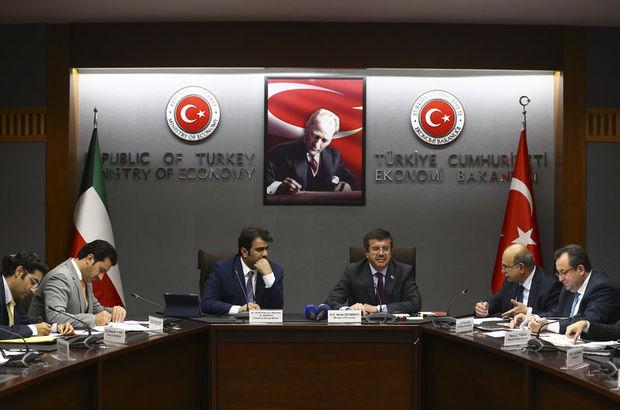"""""""Türkiye ile Kuveyt arasındaki ticaret hacmi artırılmalı"""""""