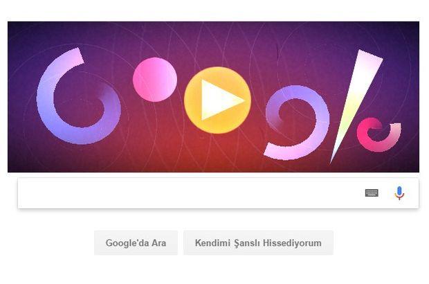 Google, Oskar Fischinger'ı unutmadı