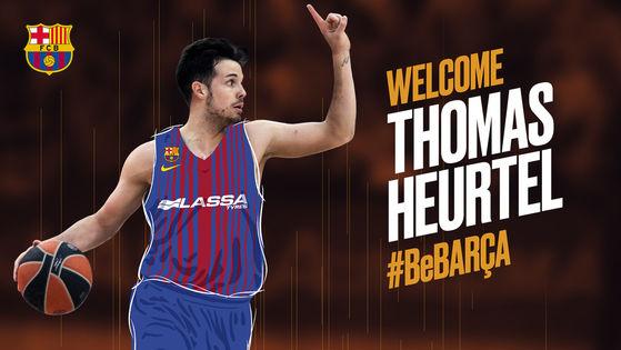 Thomas Heurtel, resmen Barcelona Lassa'da!
