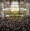 İbadet, rahmet ve mağfiret ayı olan Ramazan