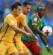 FIFA Konfederasyon Kupası B Grubu karşılaşmasında Kamerun ile Avustralya 1-1 berabere kaldı