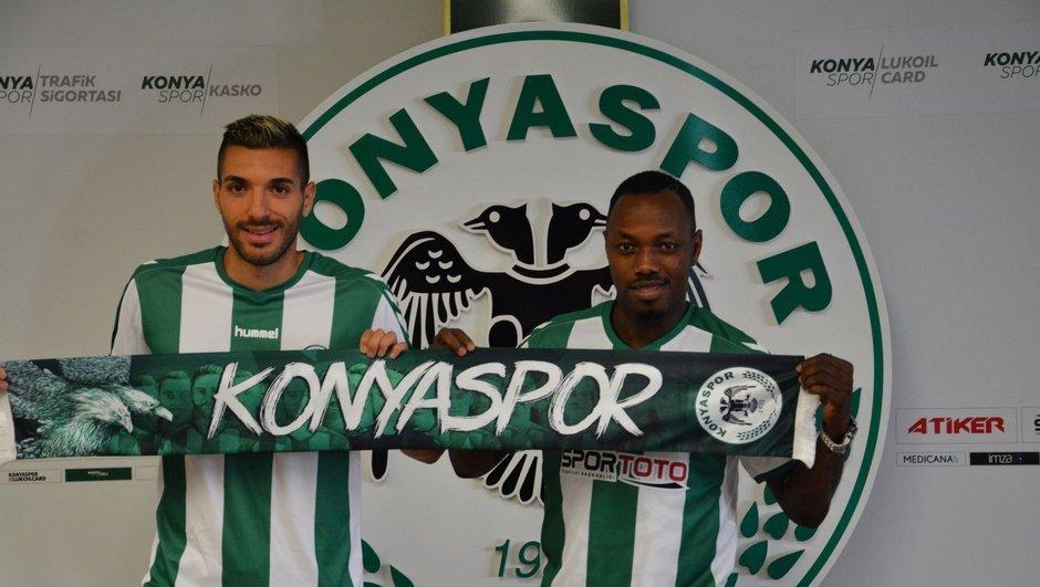 Konya'dan çifte transfer!..