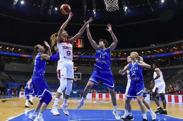 Türkiye - Yunanistan basketbol maçı sonucu: 55 - 84