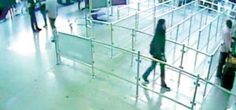 Kadın teröriste havalimanında operasyon