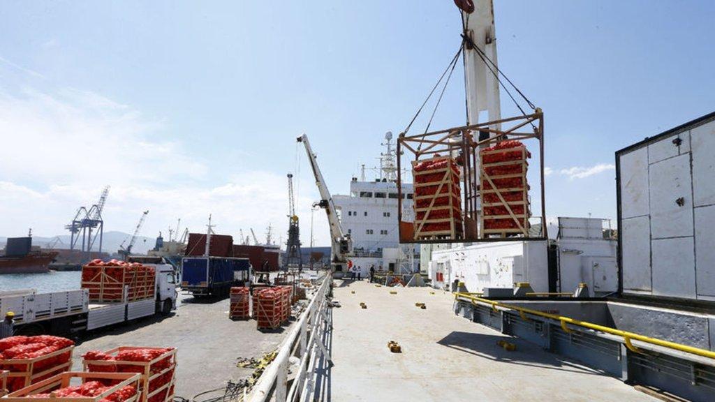 Katar'a ihracat normalin üç katı arttı