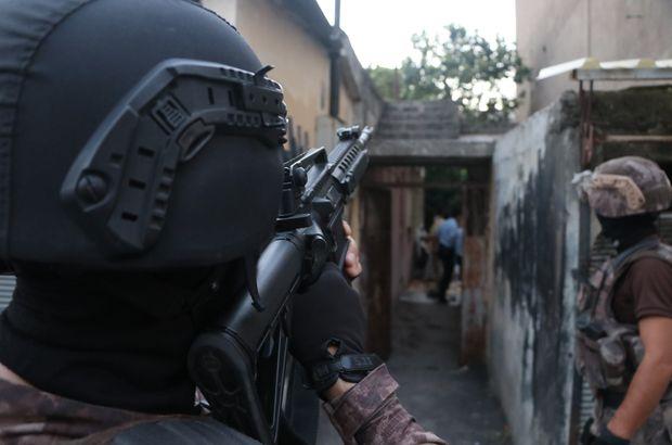 Adana'da 500 polisle operasyon