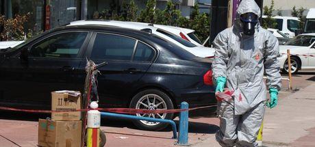 Kocaeli'de kargoda kimyasal madde sızıntısı