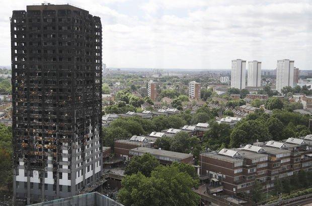 Grenfell Tower'daki yangının sebebi açıklandı: Buzdolabı!