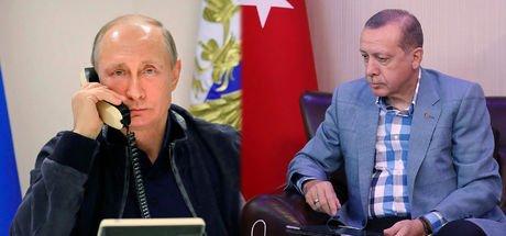Cumhurbaşkanı Recep Tayyip Erdoğan Vladimir Putin telefonda görüştü
