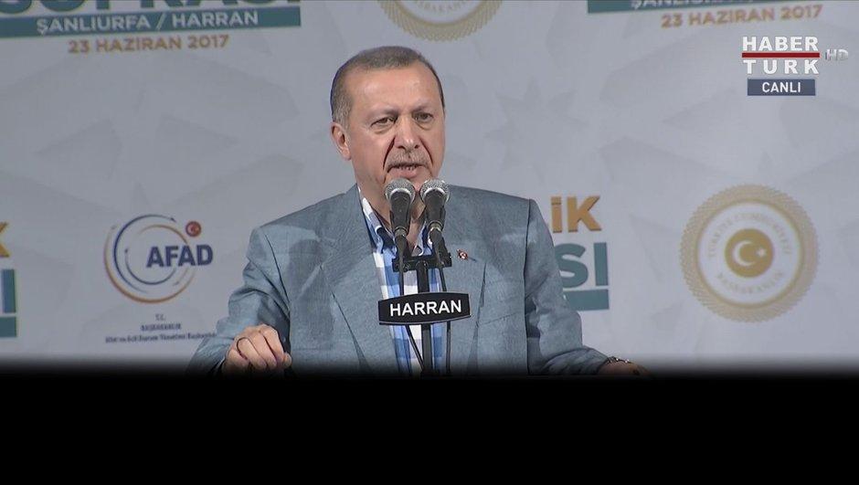 Erdoğan: Fırat Kalkanı'nda ne yaptıysak aynını yapacağız