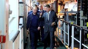 Vladimir Putin, Türk Akımı'nı denetledi
