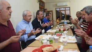 Kılıçdaroğlu, köylülerle iftar yaptı