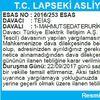 T.C. LAPSEKİ ASLİYE HUKUK MAHKEMESİNDEN İLAN