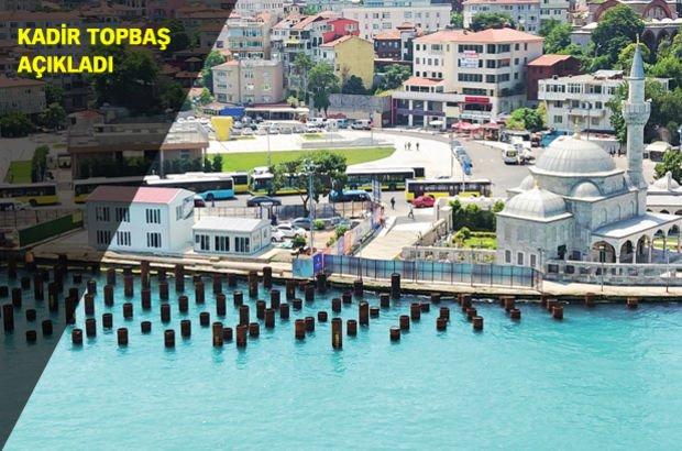 Kadir Topbaş: Şemsi Paşa Camii'ni pas geçeceğiz, çalışma sürecek