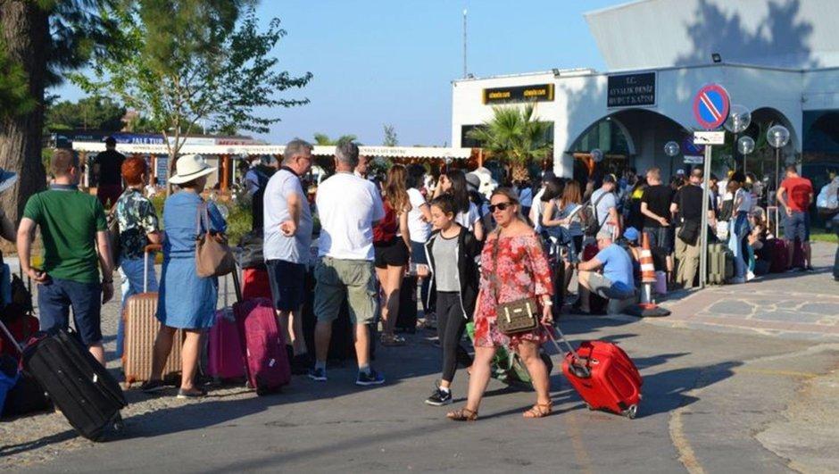 Türk tatilcilerin Yunanistan kuyruğu