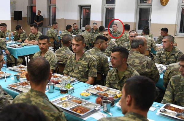 Genelkurmay Başkanı ve kuvvet komutanları son iftarlarını orada yaptı!