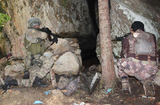 Karadeniz'de PKK'nın sığınağı bulundu!