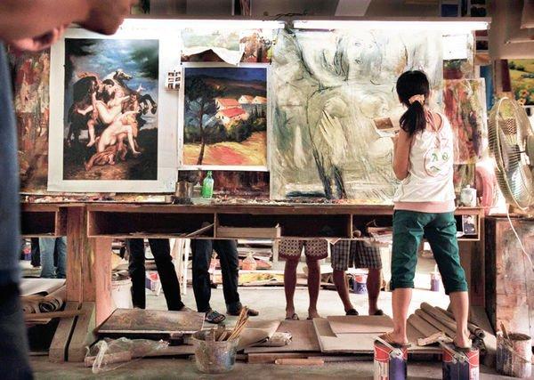 çinin Bu Köyünde 10 Bin Ressam Yaşıyor Işte Nedeni Kültür