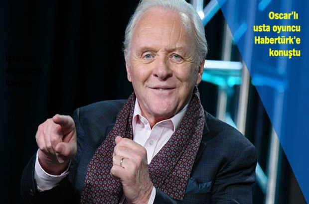 Anthony Hopkins: Transformers'ta bile lordum