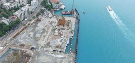Galataport yıkım işlemi büyük ölçüde tamamlanmak üzere