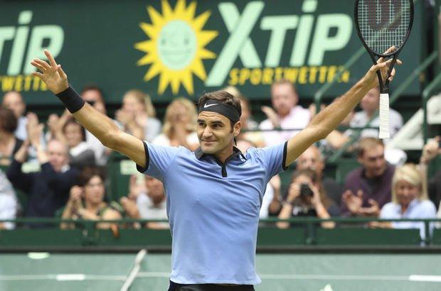 Roger Federer'den Gerry Weber Open Tenis Turnuvası'nda şampiyon oldu!