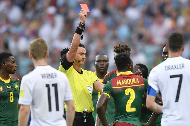 Almanya: 3 - Kamerun: 1   MAÇ SONUCU