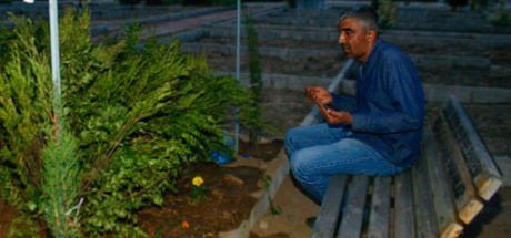 Babası, Ceylin'in İzmir'deki mezarını ziyaret etti