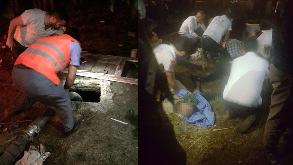 Adanada foseptik çukuru faciası! 1i hamile 4 kişi öldü