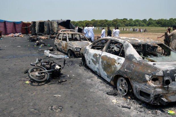Pakistan'da tanker trajedisi: 153 ölü