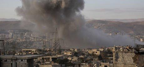 İsrail bugün de Suriye'yi vurdu